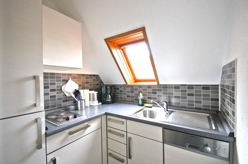 Komfort-Wohnung Toppler: Separate Küche