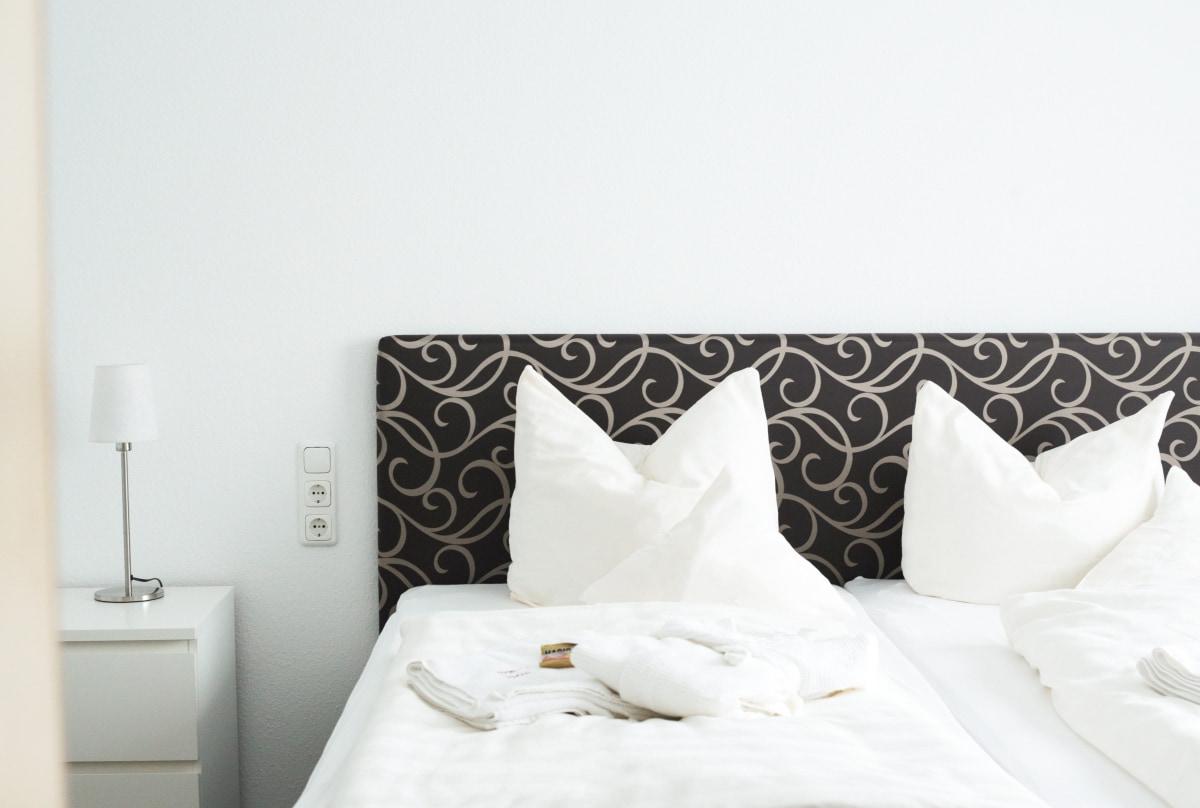 Fewo Sauber Schlafzimmer